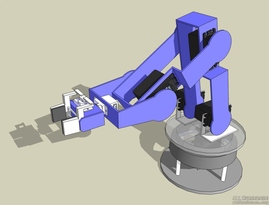 Akikorhonen Org Projects Robot Arm